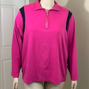 ➕ Tommy Hilfiger Pink Pull Over Size 3X